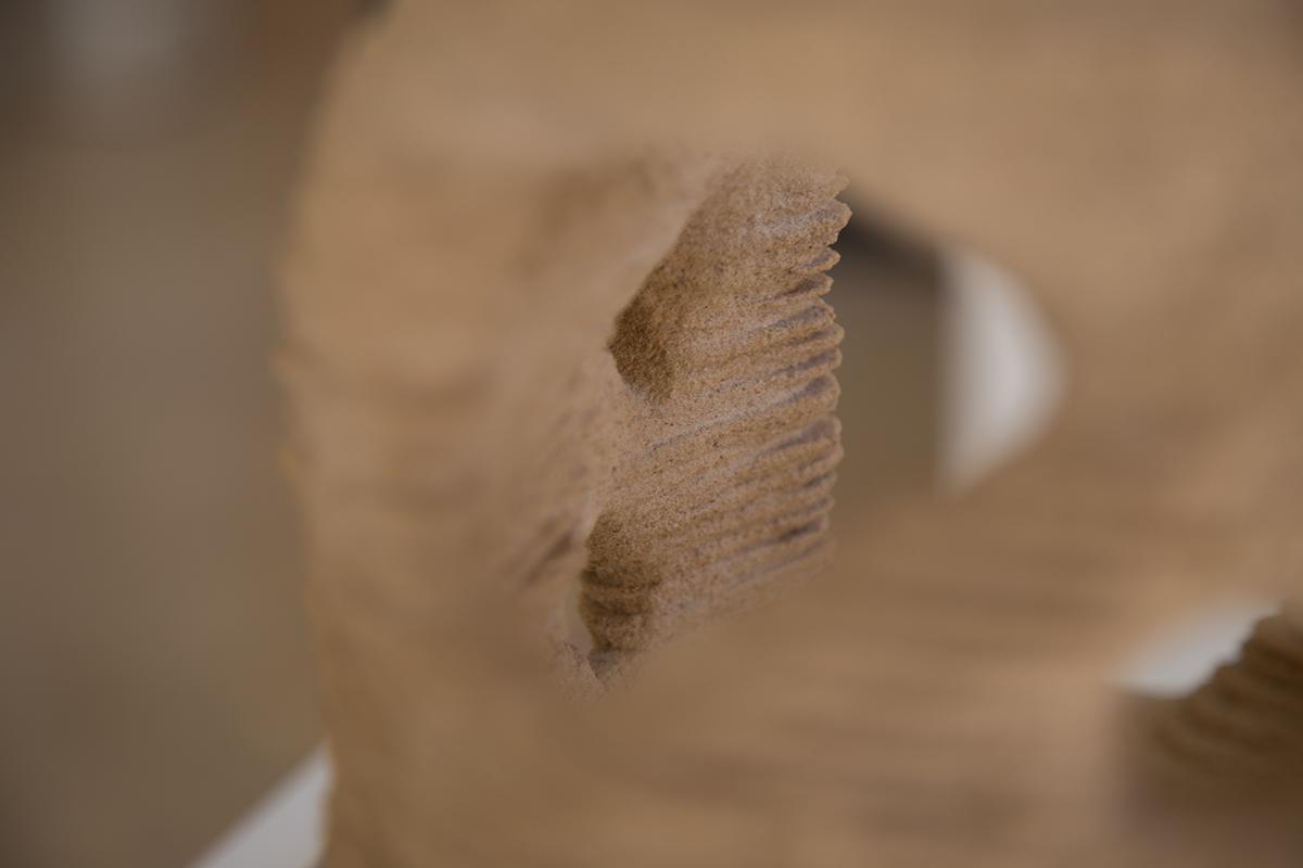 Hashem Joucka Sand 3D Printing