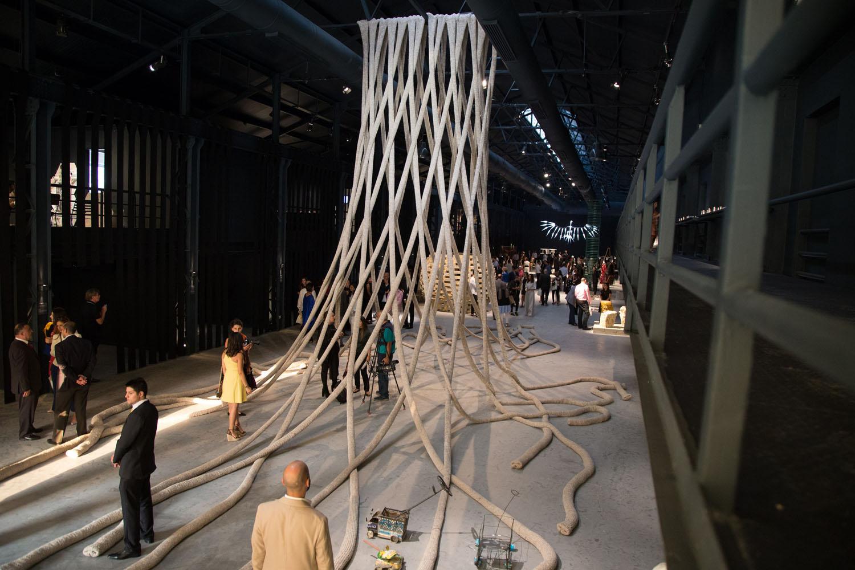 Entrelac by Nader Tehrani and Raya Kassisieh