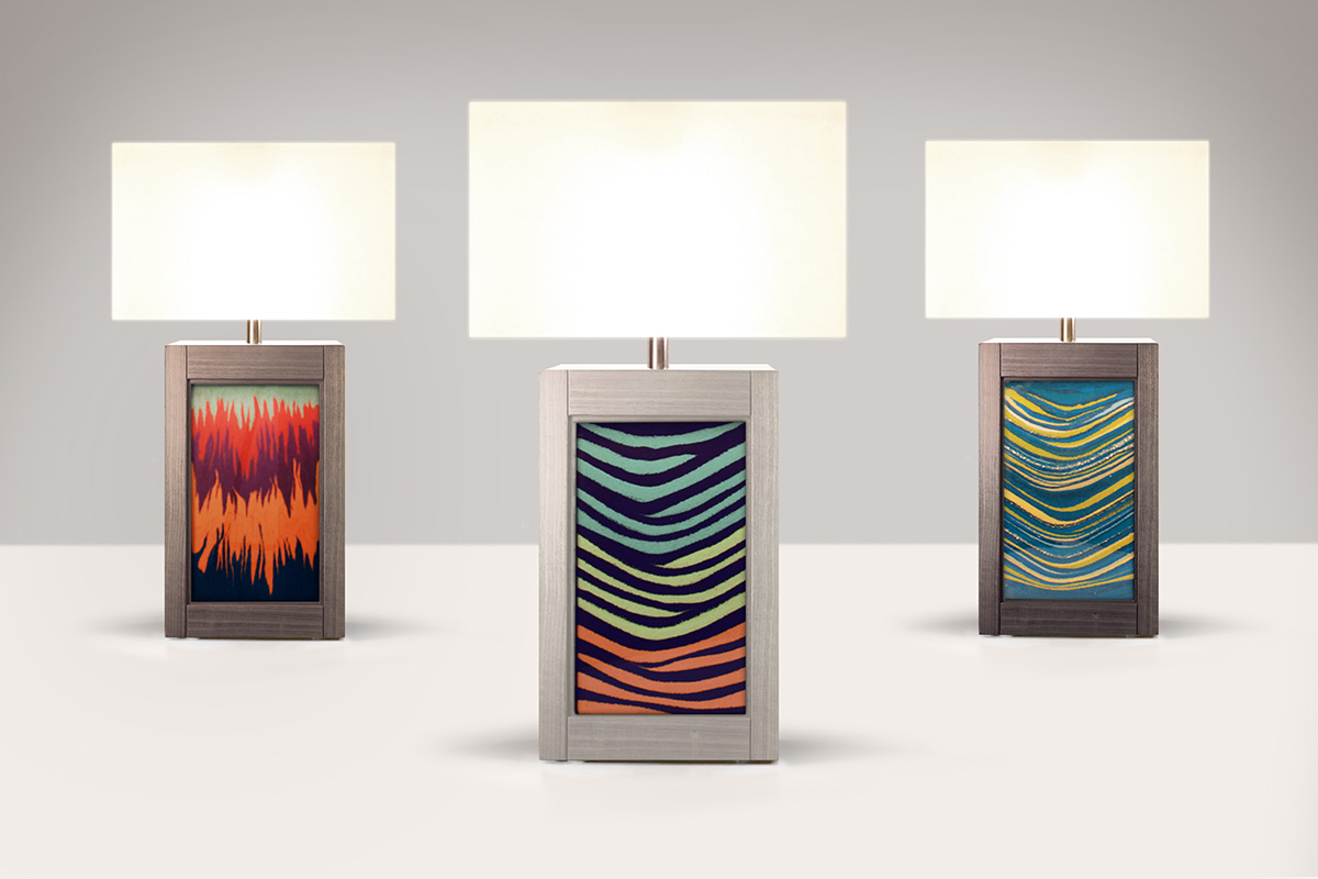 Sand Art Revival Side Lamps, Sahar Madanat Design Studio, Awards: A'Design Awards - Gold (Italy)
