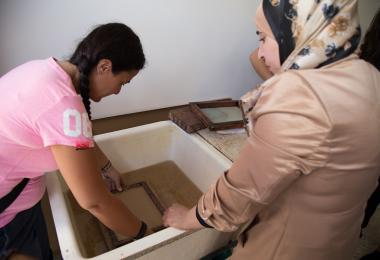 Local Papermaking by Iraq al Amir Women's Cooperative Association