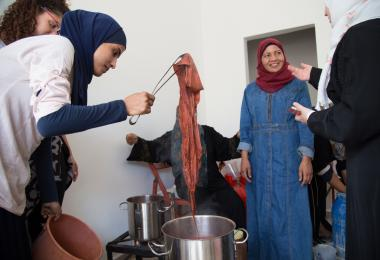 Textiles and Dying Workshop - Safi Crafts