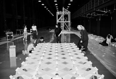 Cellular Complexity - Kais Al-Rawi, Marie Boltenstern, Julia Koerner © Amman Design Week 2017