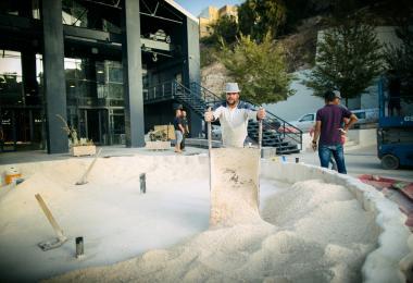 Salt Pond - Amal Ayoub © Amman Design Week 2017
