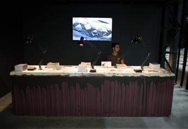 The Hangar Exhibition Reception