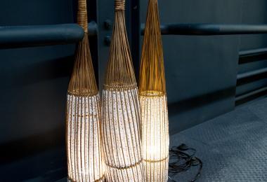 Crocheted Bamboo