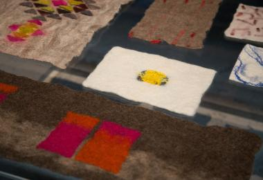 Felt and Leather; a Symbiosis