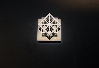 Unfolding Unity Stool: Marble Edition
