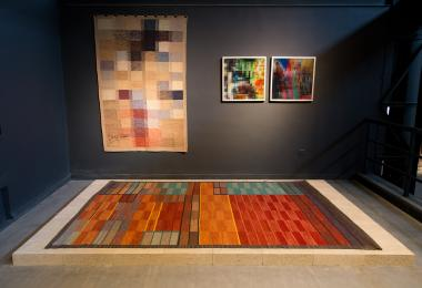 London, Keep Calm Stay Calm - rugs inspired by lenticular work