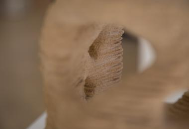 """Prototype of the Pavilion """"Cocoon"""" - Sand 3D printing"""