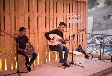 Manaseer Stage - Performance by Yazan Sabbagh