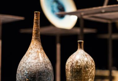 Crystalline Pottery - Aymen Azzam © Amman Design Week 2017