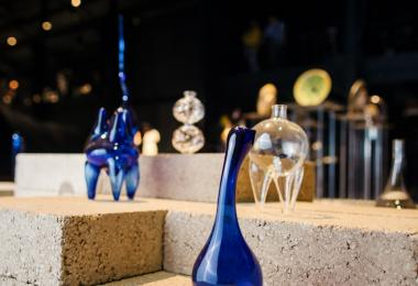 Hollow Forms (Blown Glass) - Dima Srouji © Amman Design Week 2017