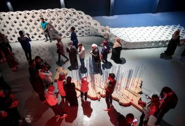 The Hangar Exhibition © Amman Design Week 2017