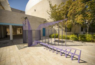 Flatland pavilion - Mais Al Azab © Amman Design Week 2017