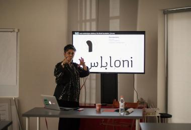 Nomadic Traces: The Craft of Type Design Research - Dr. Huda Smitshuijzen AbiFarès © Amman Design Week 2017