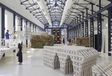 The Hangar Exhibition - Photo by Edmund Sumner © Amman Design Week 2019