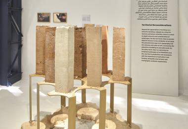 Soils of Jordan, 2019 by Atlal Collective - Photo by Edmund Sumner © Amman Design Week 2019