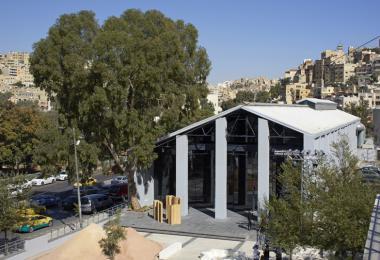 Minor Paradises, 2019 by Civil Architecture x studiolibani - Photo by Edmund Sumner © Amman Design Week 2019
