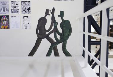 Fanzeen - Comics at the Hangar Exhibition © Amman Design Week 2019