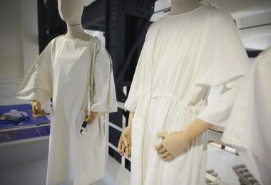 hale: an upgrade on patient attire, 2018 by Mariam Ibrahim © Amman Design Week 2019