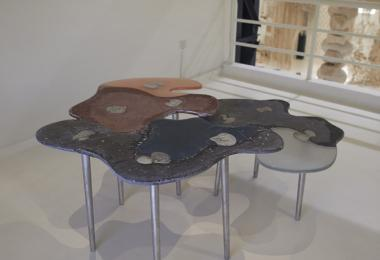 Compounded Tables, 2019 by Yasmeen Hamouda © Amman Design Week 2019