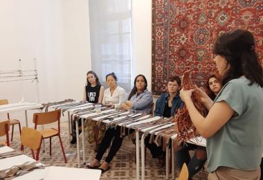 Textile Innovation Lab at Sijal Institute by Esna Su © Amman Design Week 2019