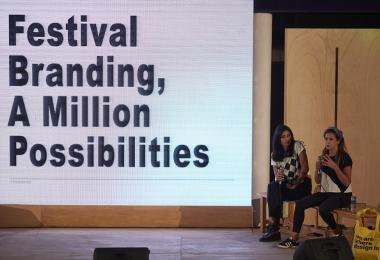 Festival Branding, a Million Possibilities by Abeer Zoumot and Noor Issa © Amman Design Week 2019