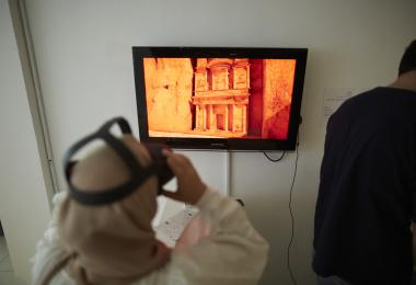 Petra VR by Mansour Tabbaa © Amman Design Week 2019