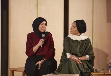 Hekayat: How we did it our way by Tasmeem Doha 2019 Co-Chairs - Hadeer Omar, Noha Fouad, Wajiha Pervez, Yasmeen Suleiman © Amman Design Week 2019